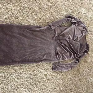 Velvet asos dress new with tags